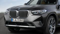 BMW X3 2022 facelift: il nuovo frontale