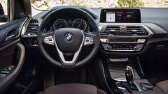 BMW X3, gli interni