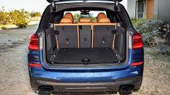 BMW X3, il bagagliaio