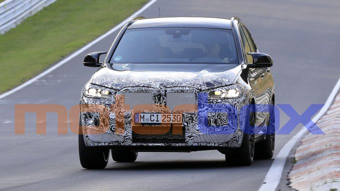BMW X3 M 2021: visuale frontale