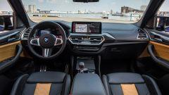 BMW X3 M Competition 2022: gli interni
