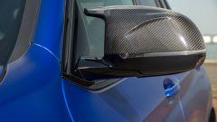 BMW X3 M Competition 2022: gli specchietti aerodinamici