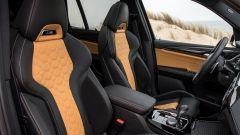 BMW X3 M Competition 2022: i sedili sportivi M