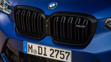 BMW X3 M Competition 2022: la griglia M