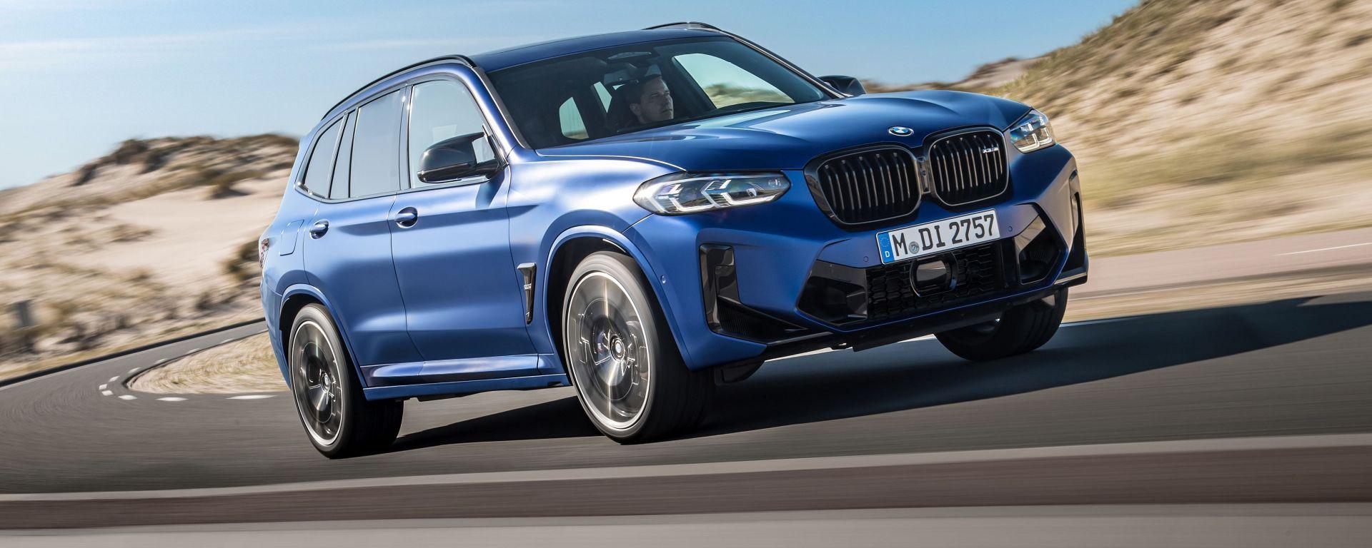 BMW X3 M Competition 2022: la versione sportiva del SUV tedesco