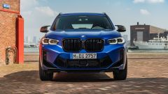 BMW X3 M Competition 2022: visuale frontale