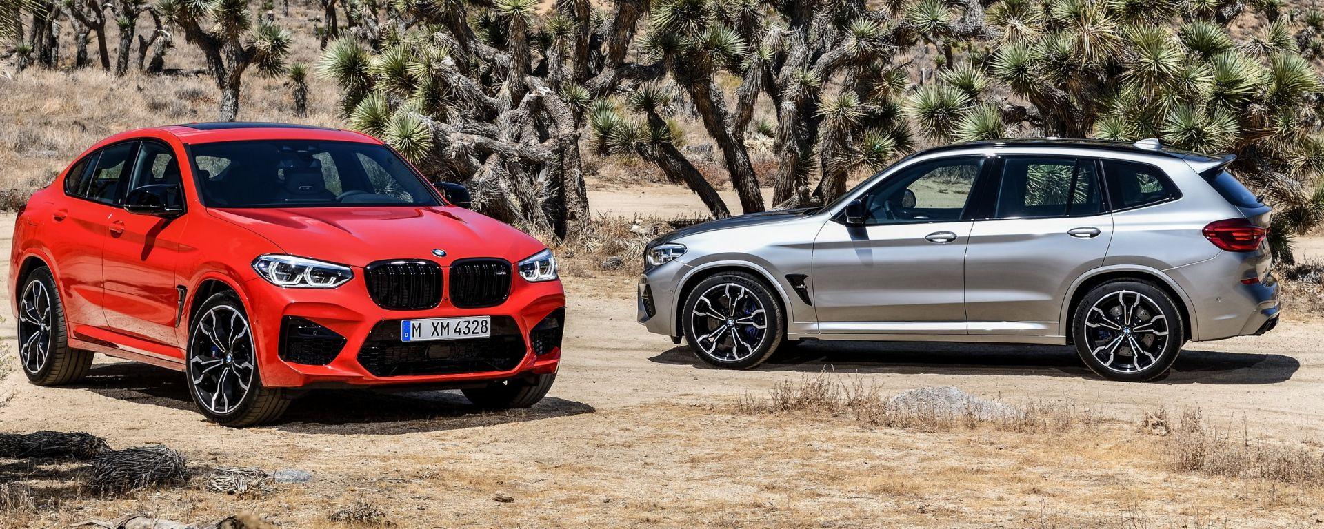 BMW X3 M e X4 M spaventano l'Alfa Romeo Stelvio Quadrifoglio