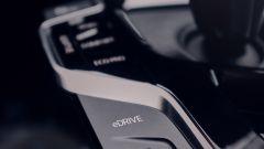 BMW X3 plug-in hybrid, la console del cambio automatico
