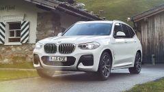 BMW X3 plug-in hybrid, produzione da dicembre 2019
