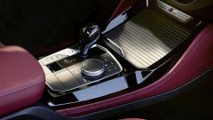 BMW X4 2022 facelift: il nuovo tunnel centrale