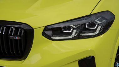 BMW X4 M Competition 2022: i nuovi gruppi ottici