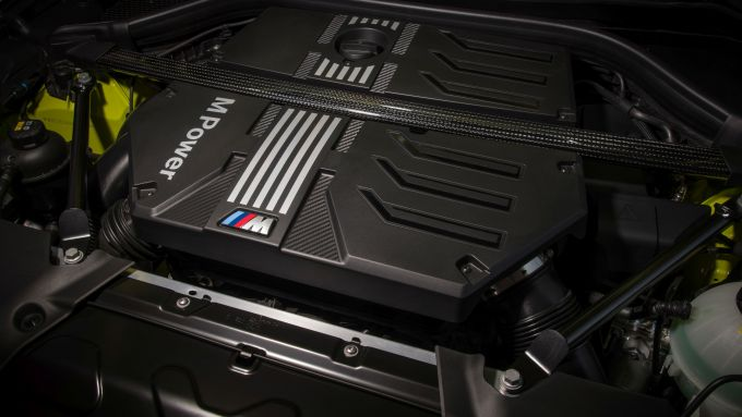 BMW X4 M Competition 2022: il motore
