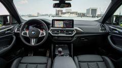 BMW X4 M Competition 2022: l'abitacolo