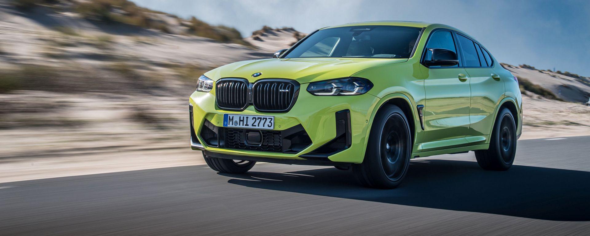 BMW X4 M Competition 2022: versione ad alte prestazioni per il SUV coupé