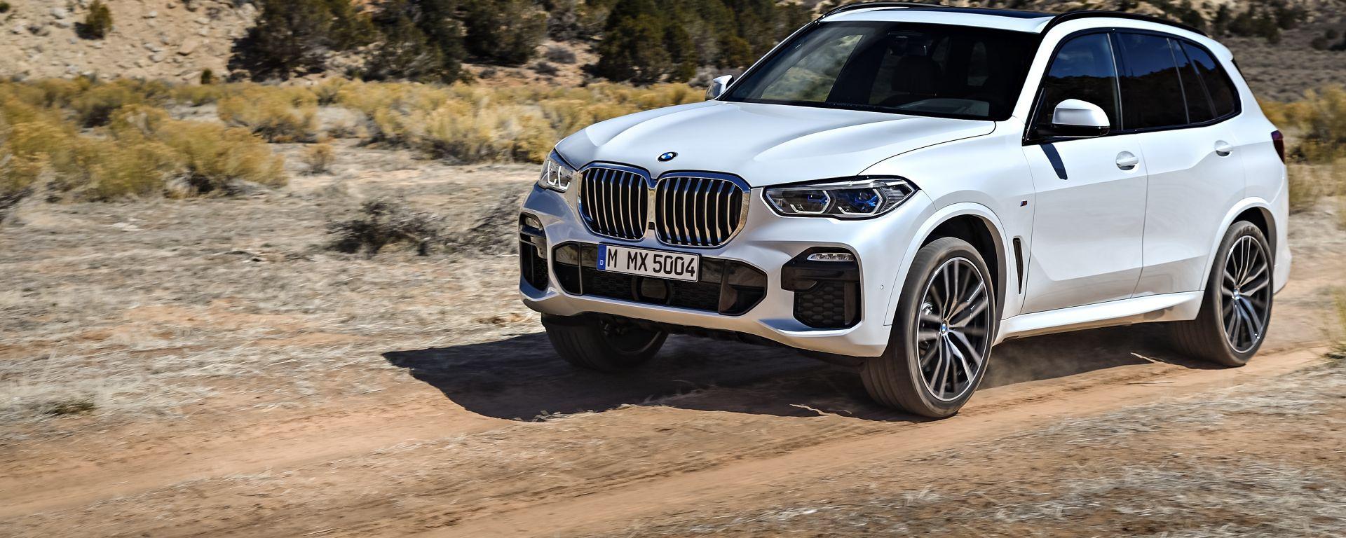 BMW X5, da maggio 2020 anche l'edizione diesel mild hybrid