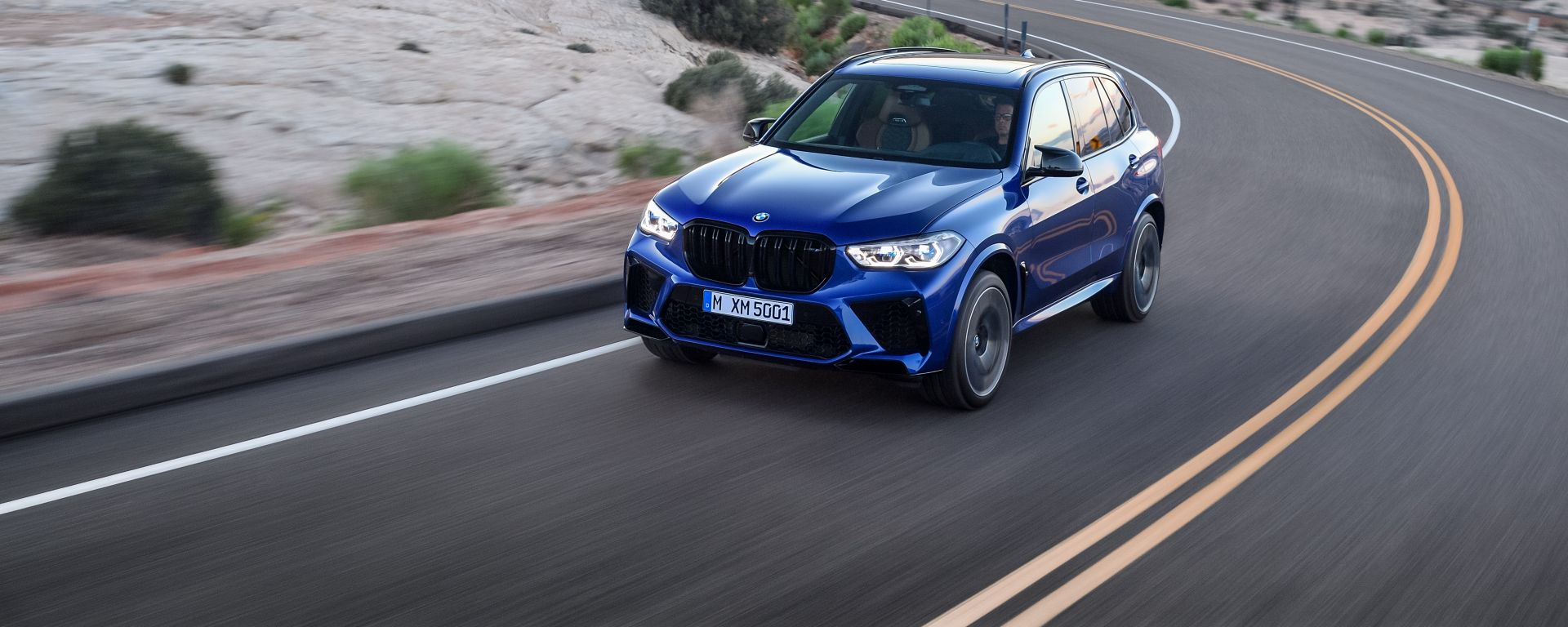 Bmw X5 M e X5 M Competition 2020: a Los Angeles con 625 CV