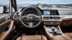 Bmw X5 M e X5 M Competition 2020: interni