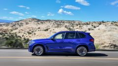 Bmw X5 M e X5 M Competition 2020: vista laterale