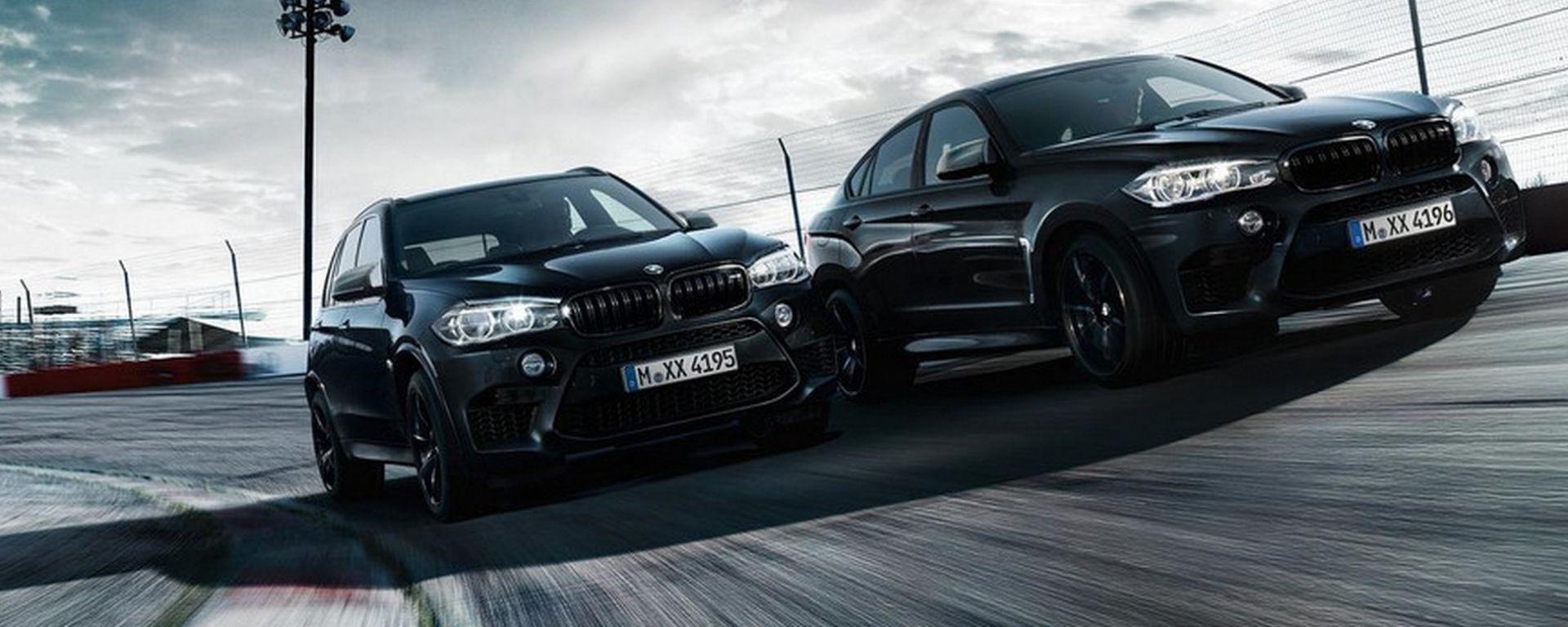 BMW X5 M e X6 M Black Fire Edition: SUV alla massima potenza