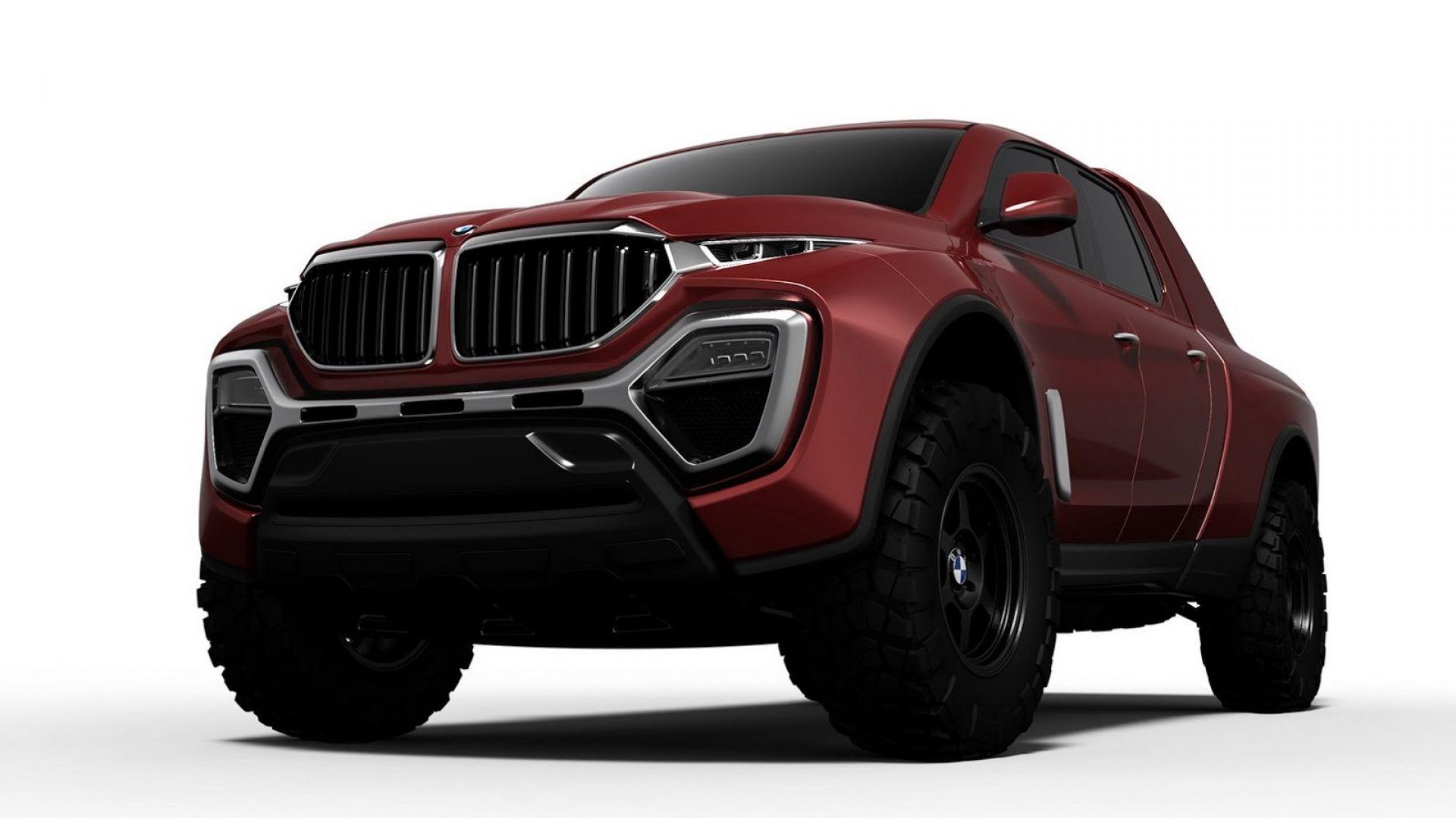 Concept: dalla BMW X5, un pick-up per contrastare Mercedes ...