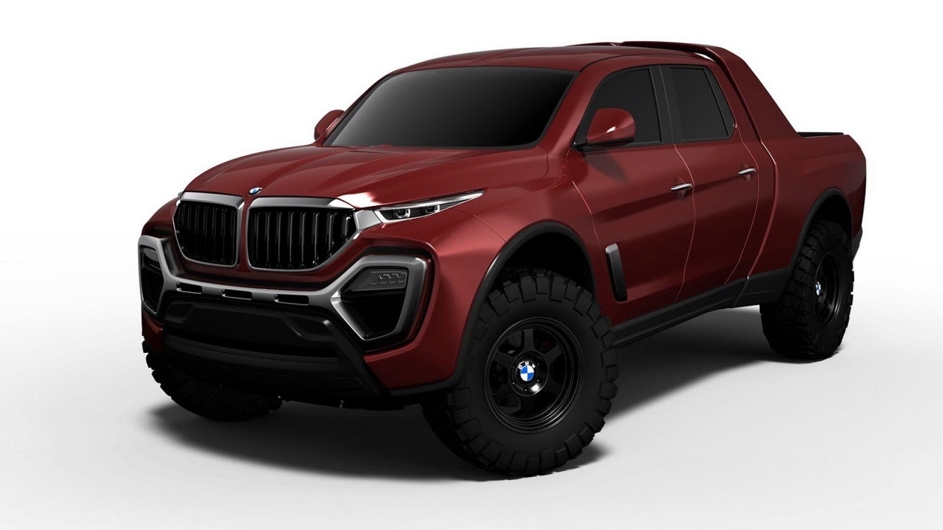 Concept Dalla Bmw X5 Un Pick Up Per Contrastare Mercedes