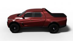 BMW X5 Pick-Up Concept: vista laterale