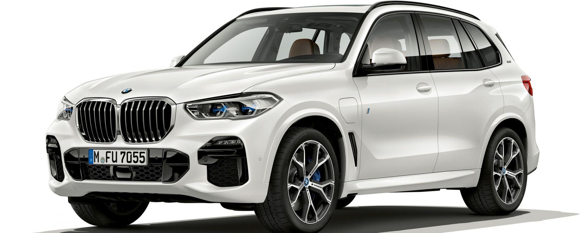 BMW X5 xDrive45e: la ibrida plug-in da 80 km in propulsione elettrica