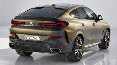 BMW X6 2019 statica 3/4 posteriore