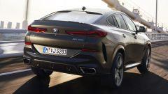 BMW X6 2019 vista 3/4 posteriore