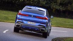 BMW X6 2020, il posteriore