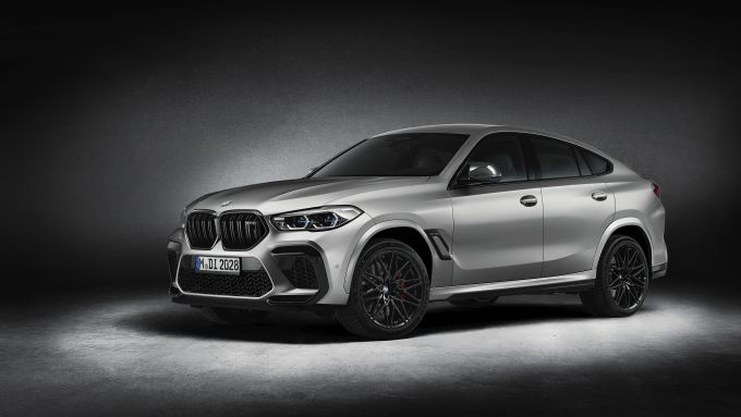 BMW X6 M Competition: 3/4 anteriore