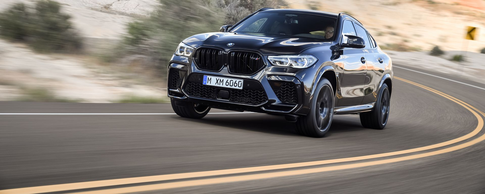 BMW X6 M Competition: dettaglio anteriore