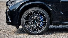 BMW X6 M Competition: dettaglio cerchi in lega