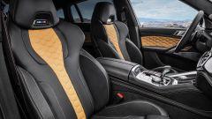 BMW X6 M Competition: dettaglio degli interni