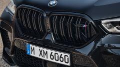 BMW X6 M Competition: dettaglio della calandra