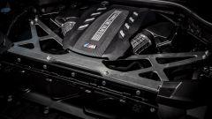 BMW X6 M Competition: dettaglio motore