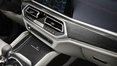 BMW X6 M Competition First Edition: dettaglio della plancia