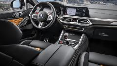 BMW X6 M Competition: la plancia