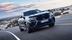 BMW X6 M Competition: vista frontale