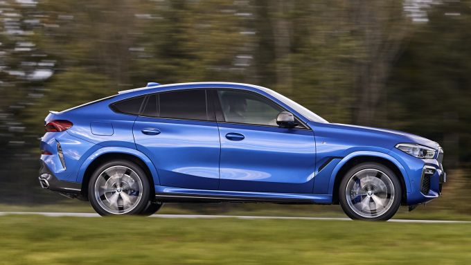 BMW X6 M50d, quadri-turbo diesel da sballo