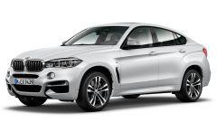 BMW X6 M50th Anniversary Limited Edition: anche la suv coupé sarà prodotta con l'esclusivo allestimento