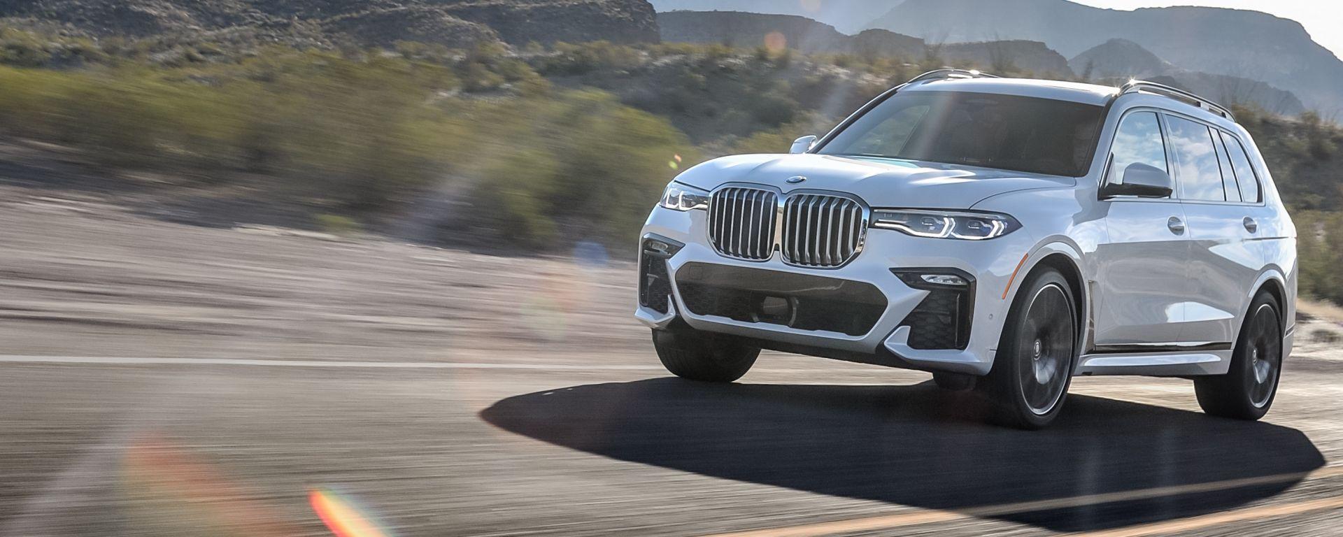 Nuova BMW X7, quando le dimensioni contano