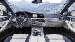 BMW X7, gli interni
