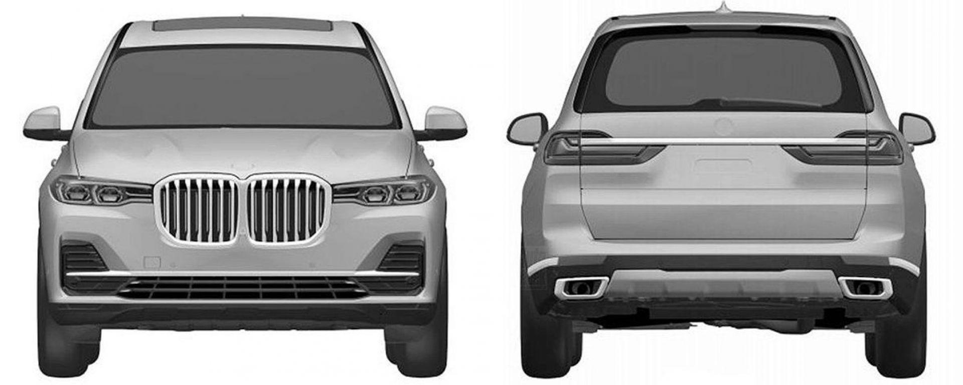 BMW X7: ecco come sarà davvero