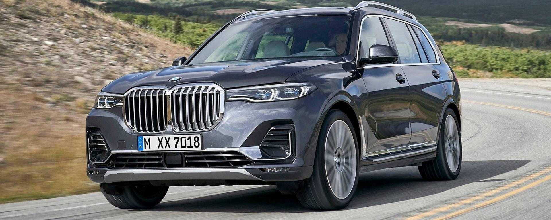 BMW X7, ecco il SUV super-lusso secondo Monaco