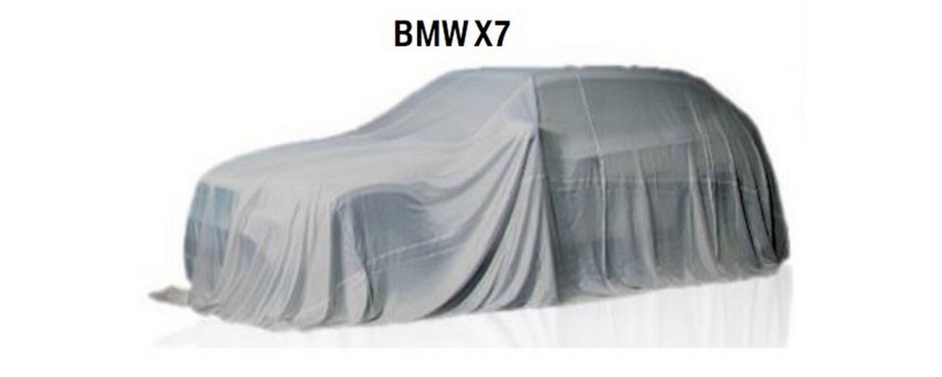 BMW X7: lusso formato suv
