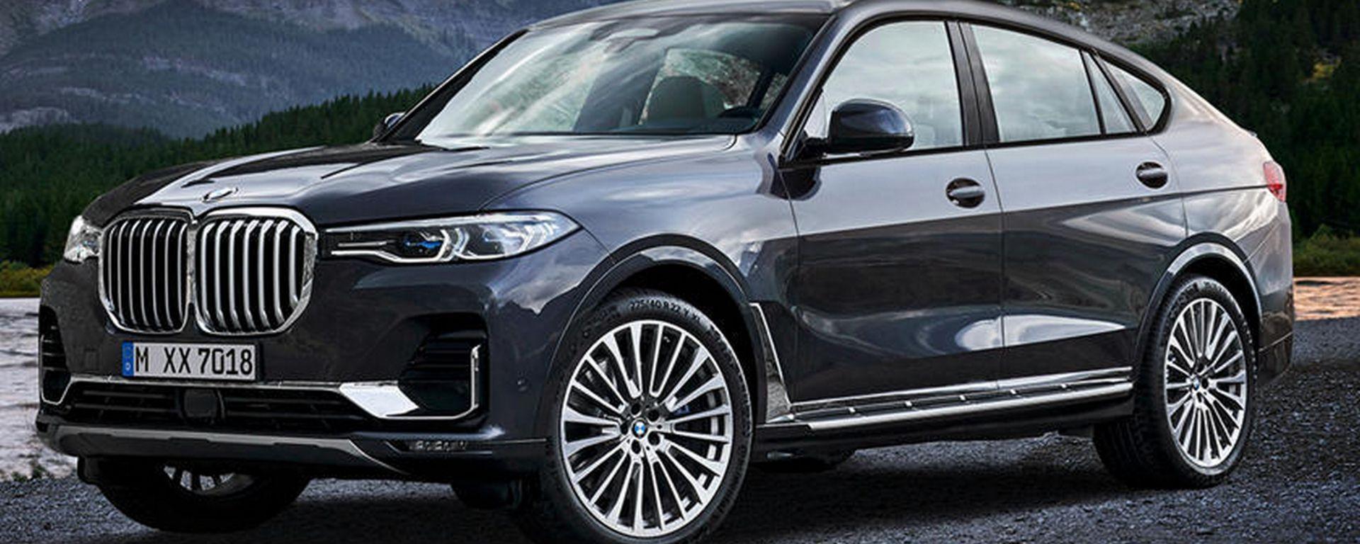 BMW X8, ecco come se la immagina X-Tomi Design