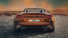 BMW Z4 2018, debutto in California