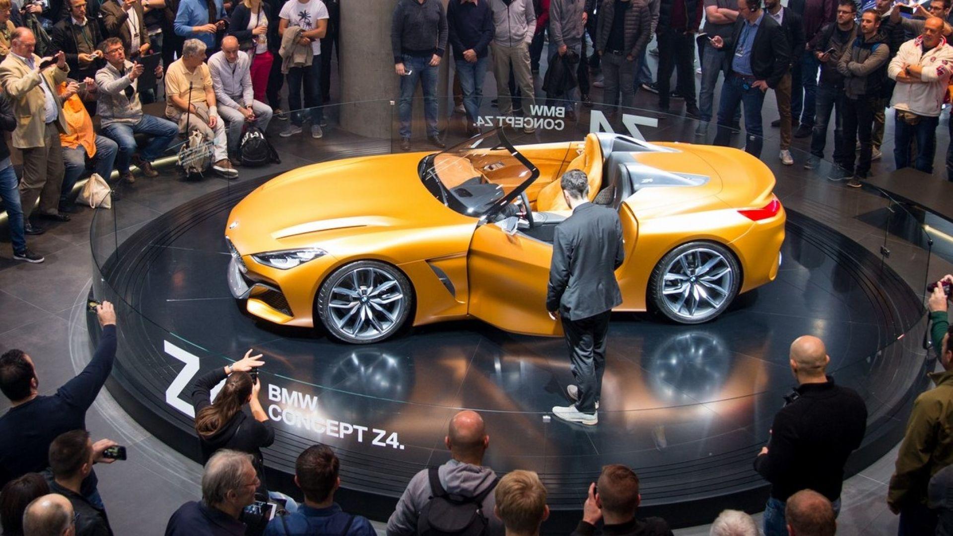 Bmw Z4 2018 Ecco La Concept Del Nuovo Modello Al Salone