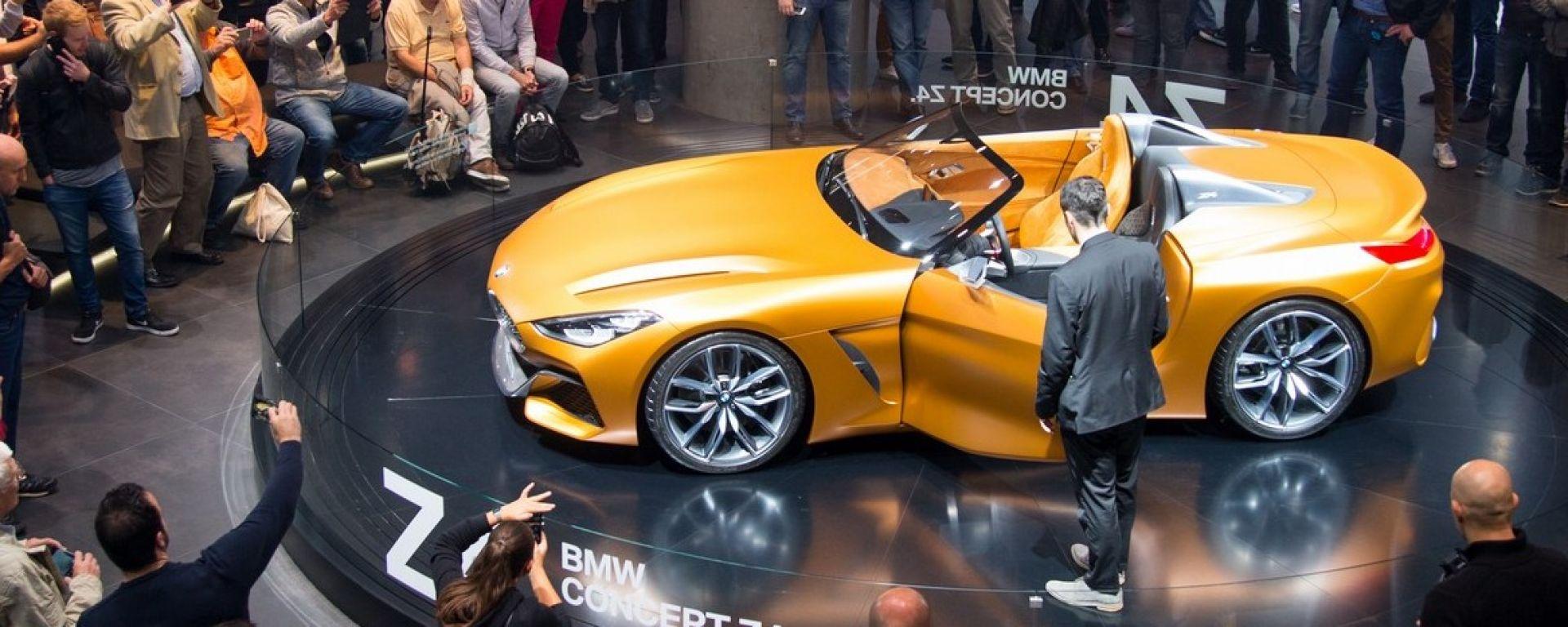 BMW Z4 Concept incanta il Salone di Francoforte 2017
